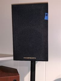 Pr. of Marantz speakers w/stand