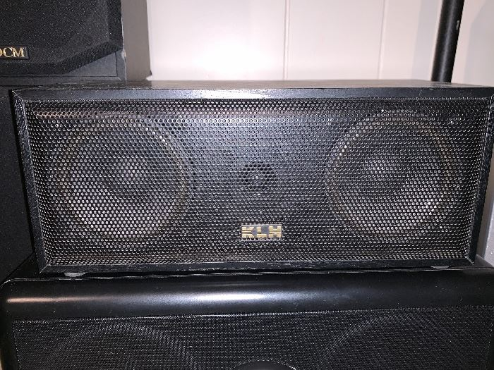 K L H center speaker