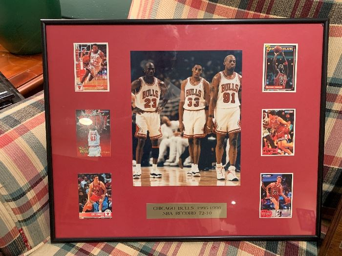 Sports collectibles- Chicago Bulls