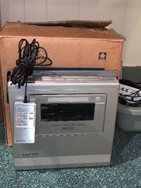 Sanyo Portable Video Cassette Recorder VPR 4800 w/box