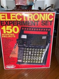 Electronic Experiment set in box