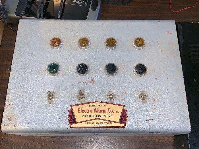 Vintage Electro Alarm Co. - Burglar Alarm System