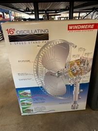 Fan , new in box