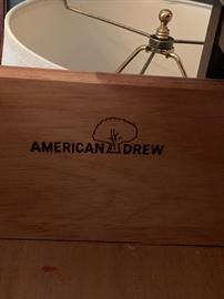 American Drew 3 drawer chest