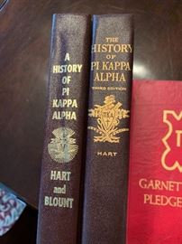History of PI Kappa Alpha books