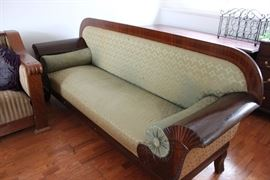 Vintage English Empire Sofa