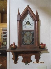chauncy Jerome steeple clock