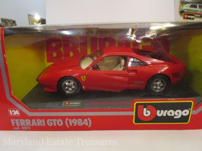 1984 Ferrari GTO Diecast Car