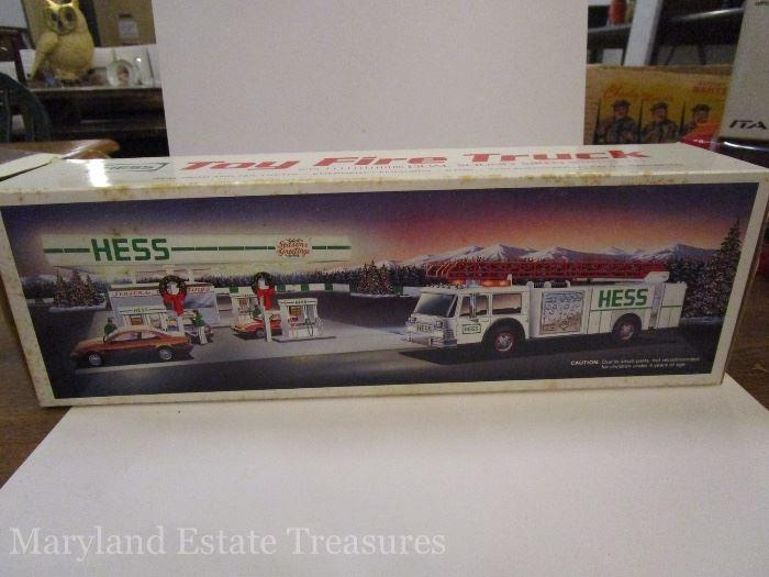 1989 Hess Toy Fire Truck