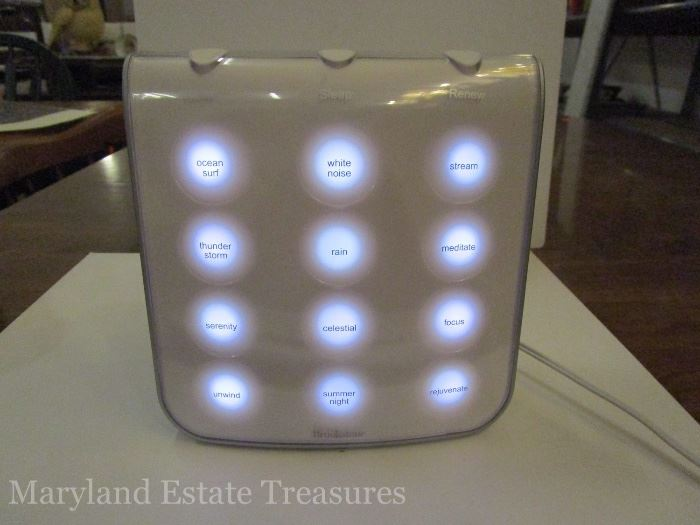 Tranquil Moments Sound Therapy System-Brookstone