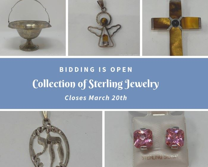 Collection of Nice Sterling Fine Jewelry