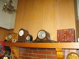 old clocks, some need work