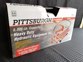 Pittsburgh Automotive Heavy Duty Hydraulic Equipment Kit