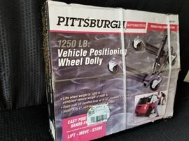 Pittsburgh Automotive Vehicle Positioning Wheel Dolly