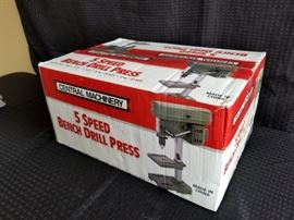 Central Machinery 5-speed Bench Drill Press