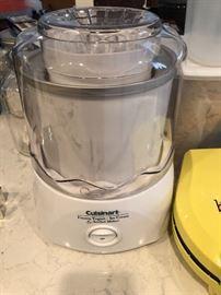 New cuisinart ice cream maker