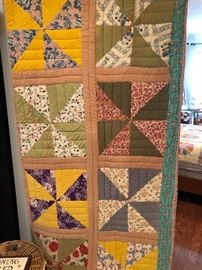 Another great looking vintage quilt