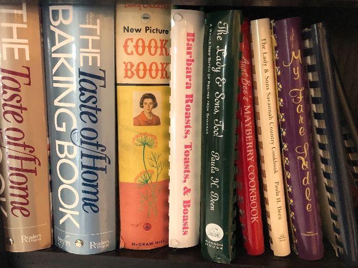 Good selection of cookbooks