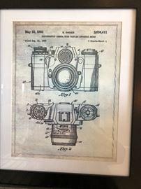 Framed camera print