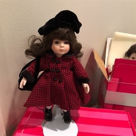 Collectible dolls. New in box. Many just opened and still wrapped