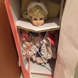 Little Bo Peep still packed away