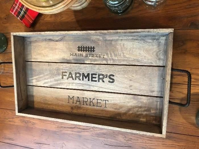 Neat tray for the table or wall
