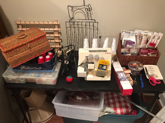 Sewing department. Much more than photographed and all priced to sell