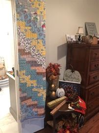 Beautiful Hand done quilt
