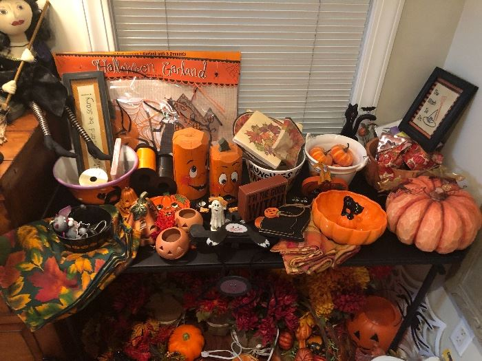 Fall and Halloween ready to go