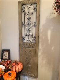 Really neat door panel to hang