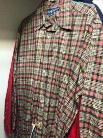 Several Polo shirts