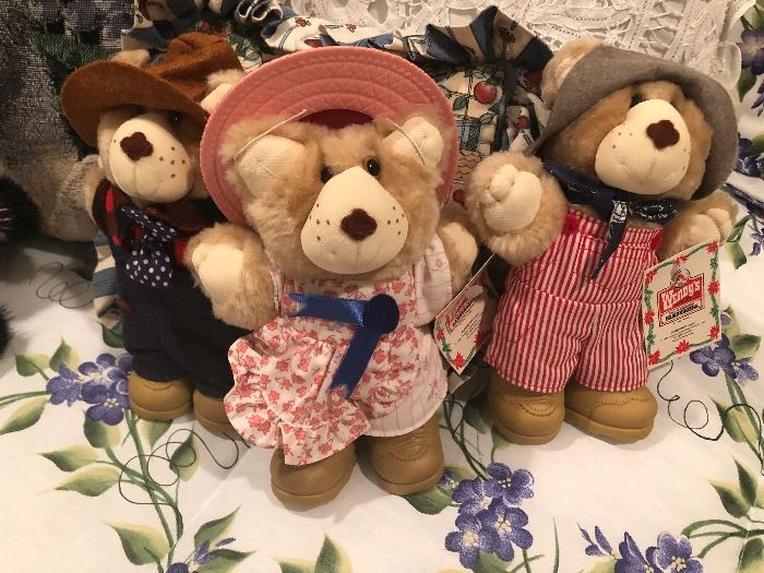 cute bears waiting for a new home
