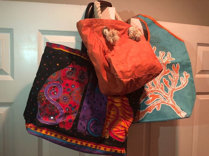 fun and funky. bags for shopping or on the go lifestyle