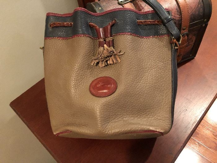 Dooney and Burke classic leather bag