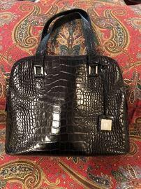 One of several Ralph Lauren bags