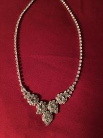 Beautiful well made costume jewelry. Diamonds are a girls best friend