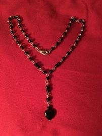 Contemporary and vintage style necklaces. Great prices too