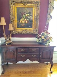 Gorgeous Oil Painting and Buffet