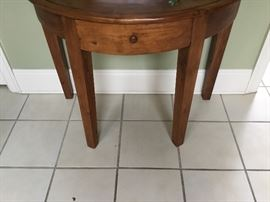 Teak from Thailand Demi lune table