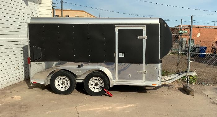 2007 Wells Cargo MC122-7-TE Trailer