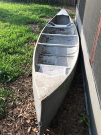 Grumman 15ft aluminum canoe