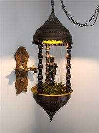 Working condition oil rain drip hanging lamp!