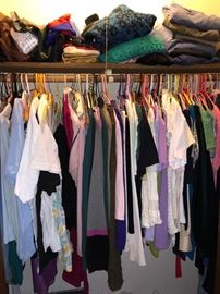 Women's clothing and purses