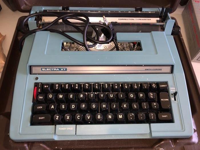 Vintage Smith-Corona typewriter
