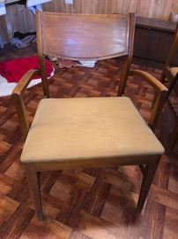 Basic Witz mid-century modern armchairs - 2 total
