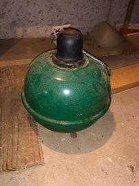 Vintage kerosene smudge pot