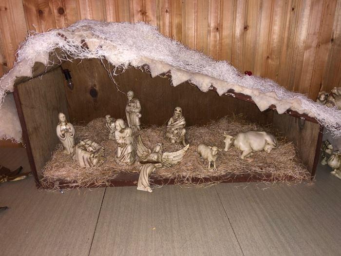 Nativity set....