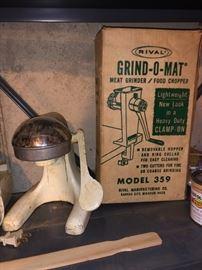 Vintage kitchen items.....