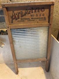 Vintage Atlantic washboard
