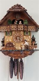 $500.  Schneider Dutch Black Forest Clock.  Perfect condition. Similar clock sold on ebay for $500.  All items MUST be picked up on March 21st or 22nd only.  If you are unable to do this please email rcullen@virtualparalegalny.com PRIOR to purchasing.  Sale has a house full of items available for sale, you are welcome to shop when you pick up your purchased items.  Lots of home decor, 2 closets FULL of ladies clothes and shoes, all like new and name brand, garage stuff, kitchen stuff etc. GREAT PRICES!